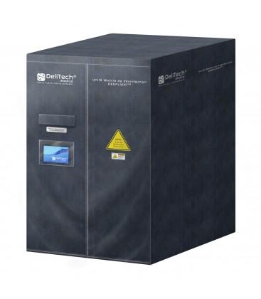 Unité mobile de désinfection DEEPLIGHT™ - 120x120x200cm - DeliTech Medical®