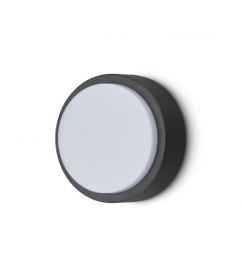 Applique Murale Extérieure 10 W - ø 200 mm - IP 54 - Rond - DeliTech®