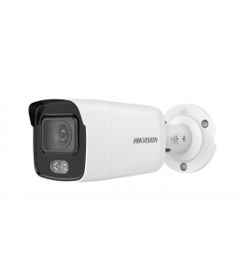 Caméra bullet IP - 4MP - ColorVu - White Light 30m - lentille 2.8mm - Hikvision DS-2CD2047G1-L