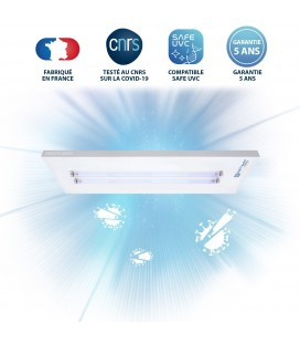 Luminaire UV-C - 2 Tubes - DEEPLIGHT®