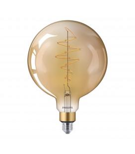 Ampoule LED E27 Philips décorative à filament - LED classic-giant 40W E27 G200 GOLD DIM
