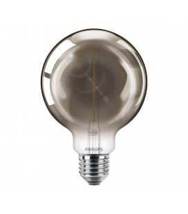 Ampoule LED E27 Philips décorative à filament - LED classic 15W G93 E27 smoky ND SRT4