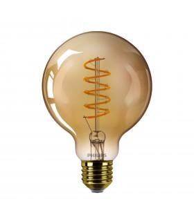 Ampoule LED E27 Philips décorative à filament - LED classic 25W G93 E27 GOLD SP D SRT4