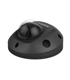 Caméra IP mini dôme DarkFighter Full HD+ H265+ 4MP PoE - Noir - Hikvision DS-2CD2545FWD-IS/B