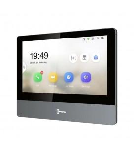 Écran de contrôle tactile Wi-Fi pour interphone vidéo DS-KD-XX - Hikvision DS-KH8350-WTE1