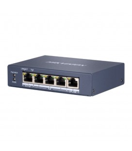 Switch PoE 4 ports - Hikvision DS-3E0505HP-E