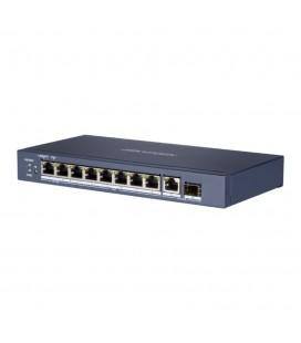 Switch PoE 8 ports Gigabit - Hikvision DS-3E0510HP-E