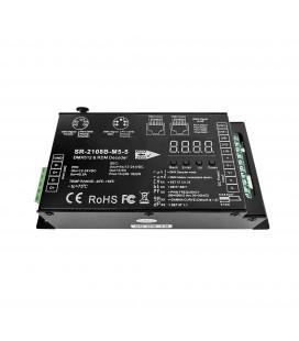 Contrôleur LED DMX512 / PWM - 5 Canaux - 12-24 V DC