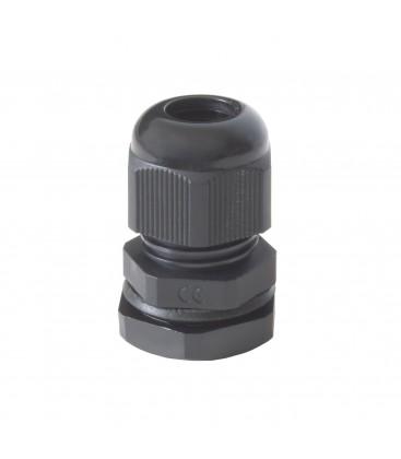 Presse-étoupe plastique IP68 PG11 - Noir