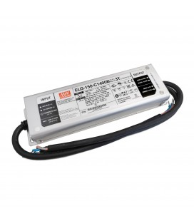 Alimentation Mean Well 150W - IP67 - 1/10V Dimmable - 100-240V AC
