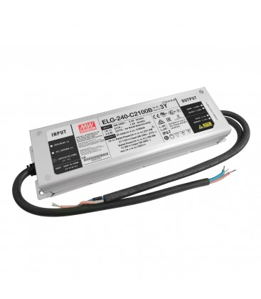 Alimentation Mean Well 240W - IP67 - 1/10V Dimmable - 100-240V AC