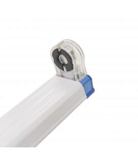 Réglette Slim pour tube LED T8 simple - Non étanche - 900 mm - DeliTech®