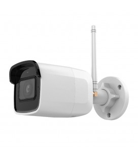 Caméra WiFi Bullet IR Fixed Network + Micro Intégré - Powered by Hikvision (DS-2CD2021G1-IDW1 2.8mm)