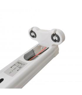 Réglette Slim pour tube LED T8 double - Non étanche - 1200 mm - DeliTech®