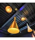 Lampe suspendue Héra - Noire - Culot E27 - DeliTech®