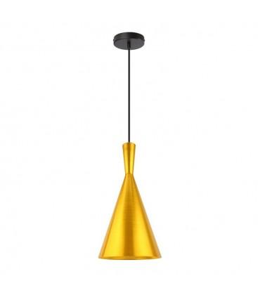 Lampe suspendue Héra - Dorée - Culot E27 - DeliTech®