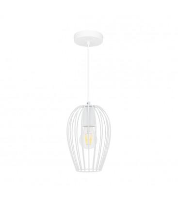 Lampe suspendue Ether - Blanc - Culot E27 - DeliTech®