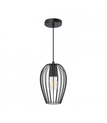 Lampe suspendue Ether - Noir - Culot E27 - DeliTech®