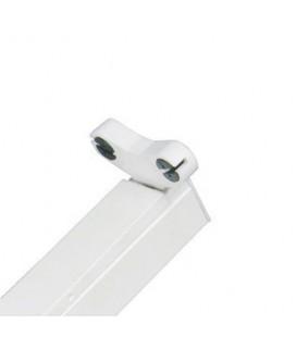 Réglette pour tubes LED T8 double - Non étanche - 1500 mm
