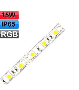 Ruban LED - 12V - 15W - IP65 - RGB