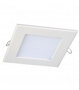 Dalle Encastrable Carrée Extra-plate - 150mm - 12W - SMD Epistar