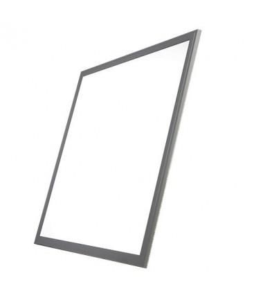 Dalle LED - SMD Samsung - 60x60 cm - 40W cadre aluminium gris