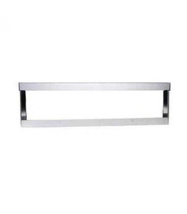 Boitier saillie aluminium gris pour Dalle LED 120x15cm