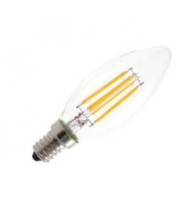 Ampoule LED E14 Bougie - 4W - Filament