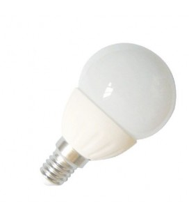 Ampoule LED - E14 - G45 - 4 W - SMD CREE - Ecolife Lighting®