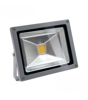Projecteur LED Ecolife 12/24V DC - 20W - COB Bridgelux