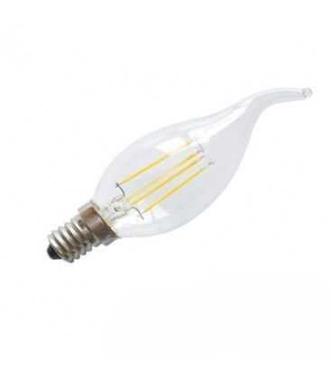 Ampoule LED E14 Flamme - 4W - Filament