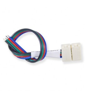 Connecteur Ruban LED Flexible - 15W RGB - Bande/Cable