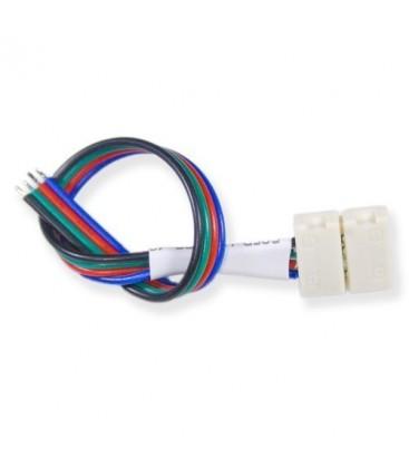 Connecteur Ruban LED Flexible - 15W RGB - Bande/Cable