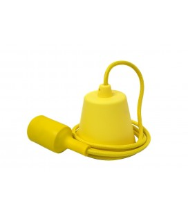 Suspension E27 - Câble suspension luminaire - Jaune