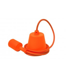 Suspension E27 - câble luminaire Orange