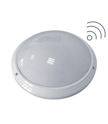 Hublot LED Rond avec détecteur - 25W - D330mm
