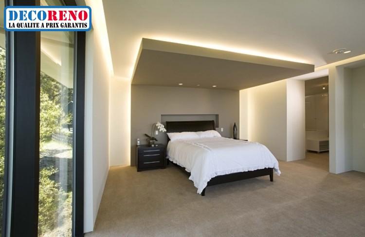 Agencez Votre Chambre à Coucher Avec Un éclairage Led