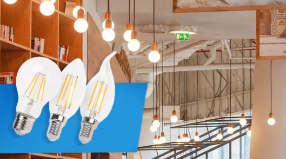 Ampoule à filament, la nouvelle tendance déco!
