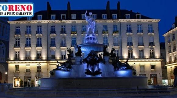 Les projecteurs led pour l' éclairage des monuments