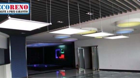 Les dalles led suspendues design et efficacité
