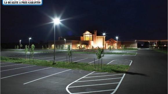 Les projecteurs led - La meilleure solution pour l' éclairage d'un parking