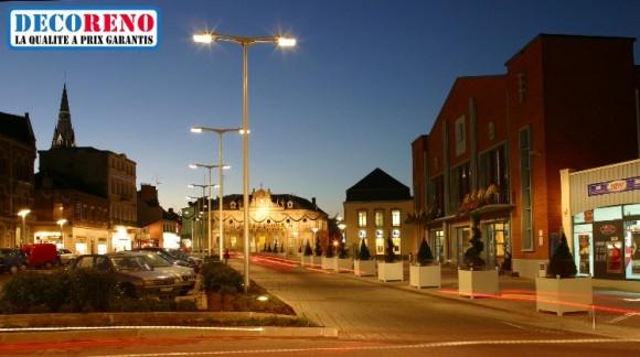 Les ampoules led pour l' éclairage public
