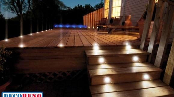 L' éclairage led design et économique pour votre terrasse !
