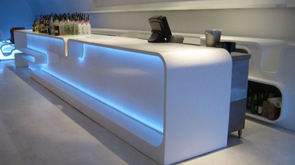 L' éclairage led idéal pour la décoration d'un bar !