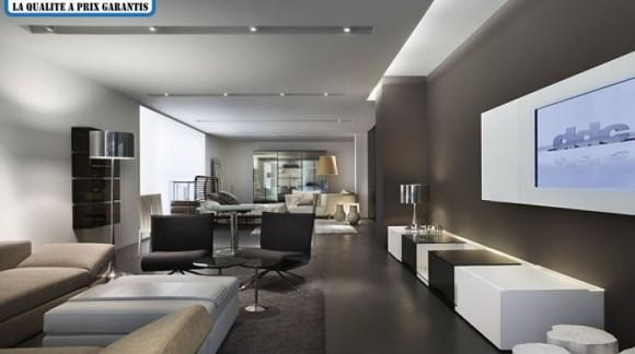 Optez pour un plafond moderne avec un éclairage à rubans led !