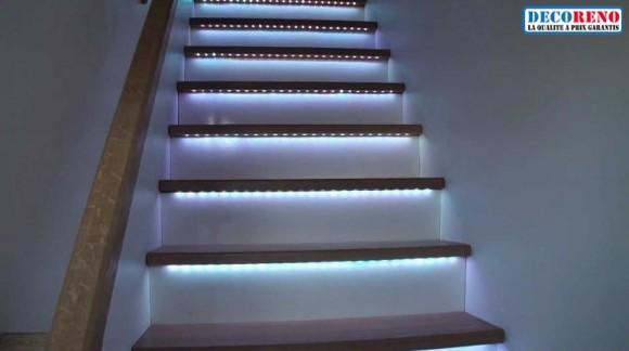 Les Rubans LED, l'éclairage idéal pour votre escalier !