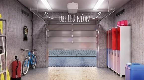Quel tube LED néon pour votre garage ?